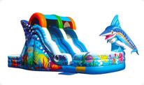 broward water slide rental