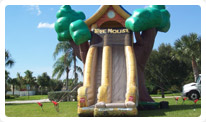 deerfield beach inflatable slide rental