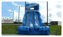palm beach water slide rental